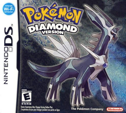 Pokemon Diamond cover