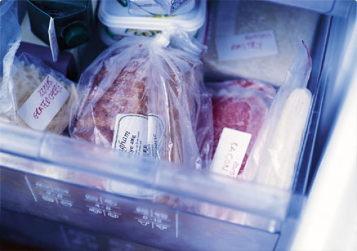 Save money and freeze bread