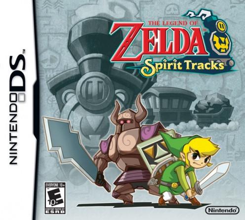 The Legend of Zelda : Spirit Tracks cover