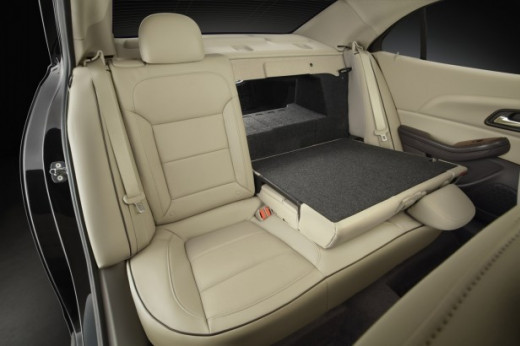 2013 Chevrolet Malibu Eco Split Folding Rear Seat