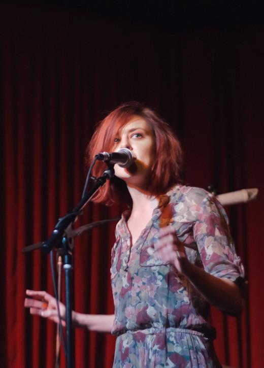 Singer/songwriter Anna Nalick