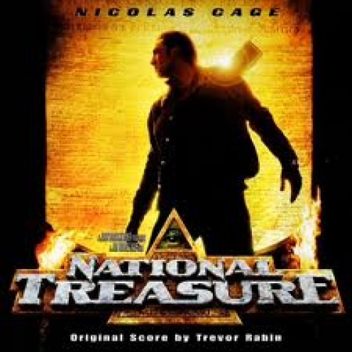 National Treasure stars Nicholas Cage and was put out by Disney. It has a sequel which continues where the first film left off.