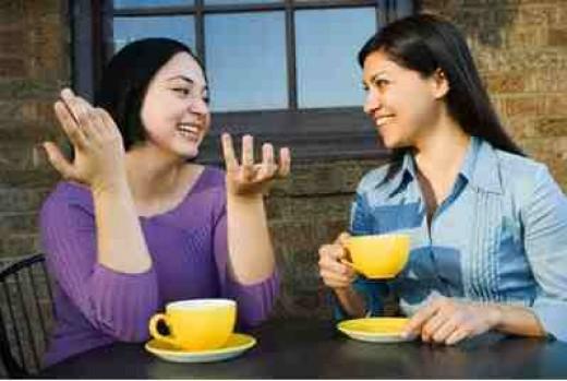 Talk to a neutral friend.