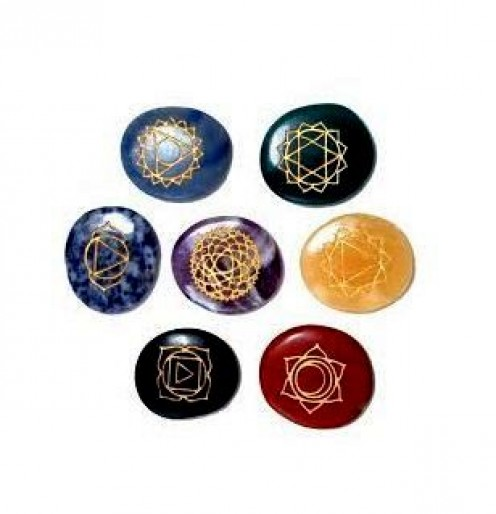 Chakra Stones Kit for Healing