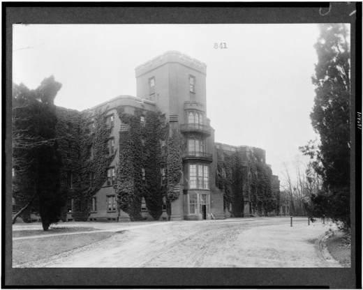 St. Elizabeth's in Washington, D.C. (one of many haunted hospitals)