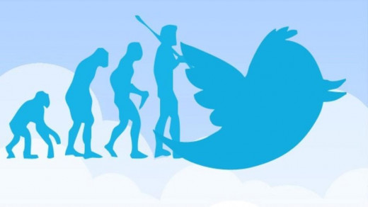 evolution of Twitter followers