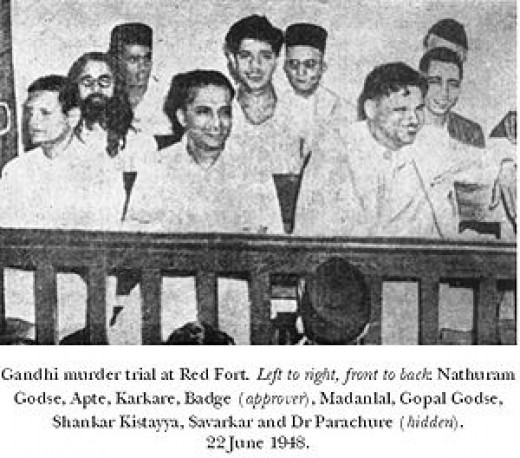 Nathuram Godse Court room trial