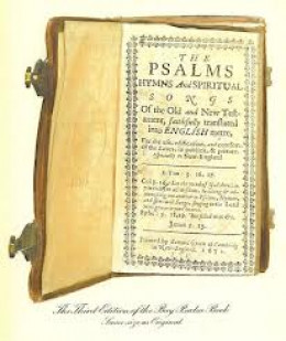 ANTIQUE PSALM BOOK