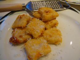 Add grated parmesan