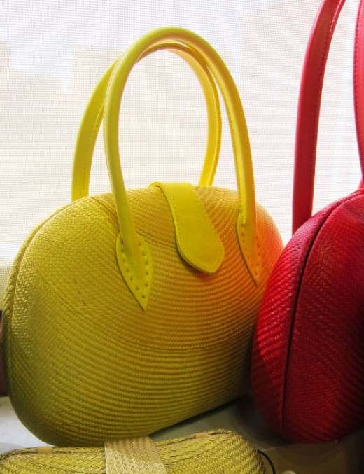 Mini Bags for Summer come in bright colors that reflect the fun of the season.