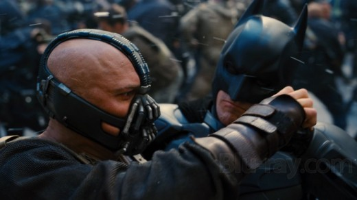 Batman and Bane Do Battle