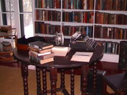 Ernest Hemingway's writing desk in Key West