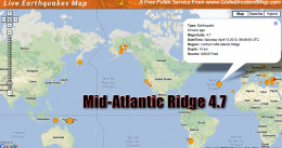 Large earthquakes in the Mid-Atlantic Ridge is not a good for sign for our planet,  tectonic plate movement in this area could create movement all over the globe.