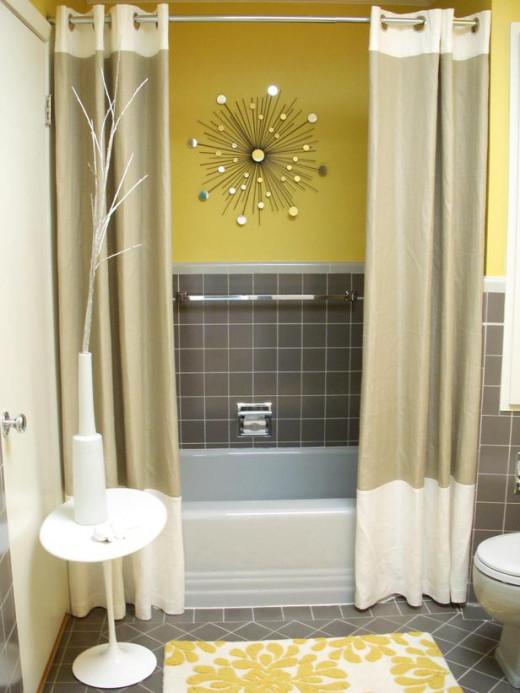 Modern Shower Curtain