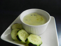 Creamy Cucumber Soup from Cross Creek Cookery