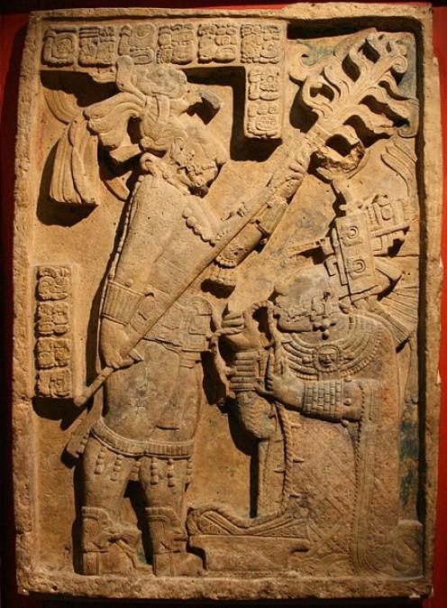 Maya ruler