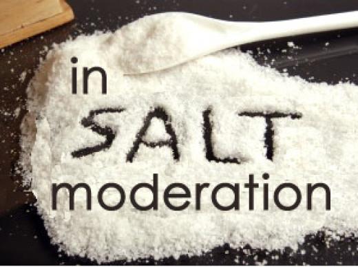 Use good, unprocessed salt sparingly.