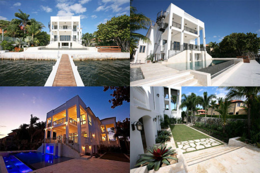 Exotic Houses In Coral Gables: Mike Tyson's 80's Mansion
