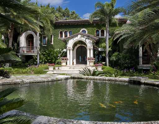 Beautiful Miami Houses: Lebron's Coral Gables House