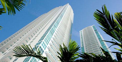 Beautiful Brickell Avenue Apartment Buildings