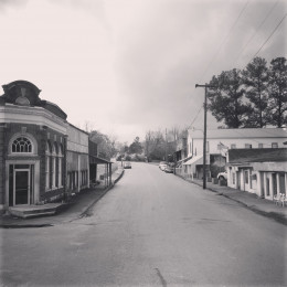 My hometown of Castleberry, Alabama. This beautiful picture was taken by Amber Hartley in April 2013.