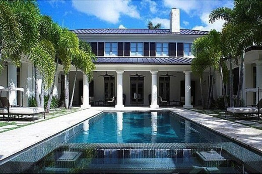 Pinecrest mansions in Miami Florida