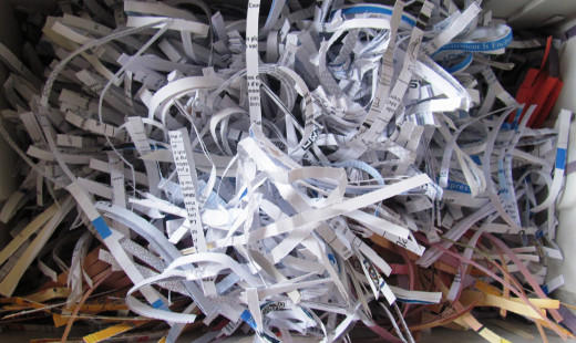 If in doubt, shred those documents.  At least make the criminals work for it.