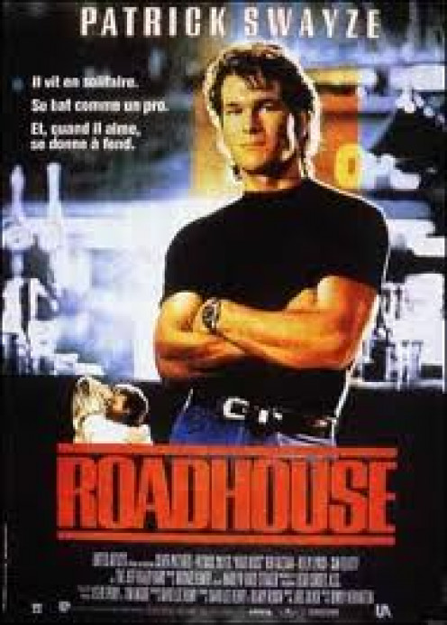 Road House starred Patrick Swayze and was a huge action hit during the 1980's. The bar fight scenes were very entertaining.
