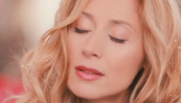 "Lara Fabian in ""Winter's Bouquet""."