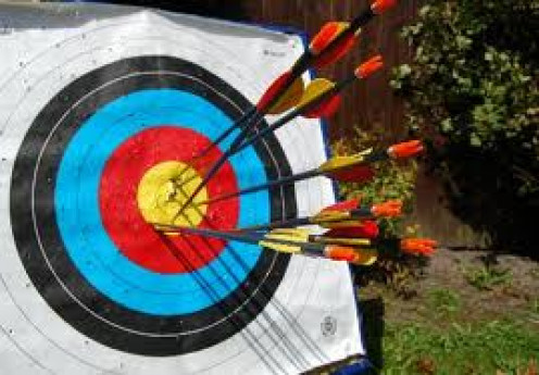 Archery is a very popular sport that takes practice and concentration. Also, stay away from Target  when someone eles is shooting an arrow because arrows can cause serious injury.