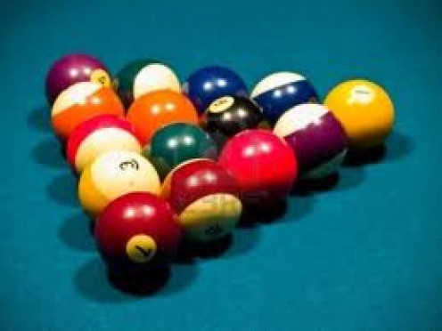Pool is a fun recreational sport. Billiard Tournaments are held all over the world every year and 8 ball is a fan favorite.