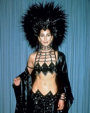 Cher in her Bob Mackie original.
