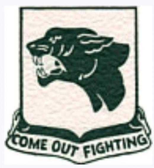 761st Tank Battalion insignia