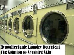 Hypoallergenic Laundry Detergent - The Solution to Sensitive Skin