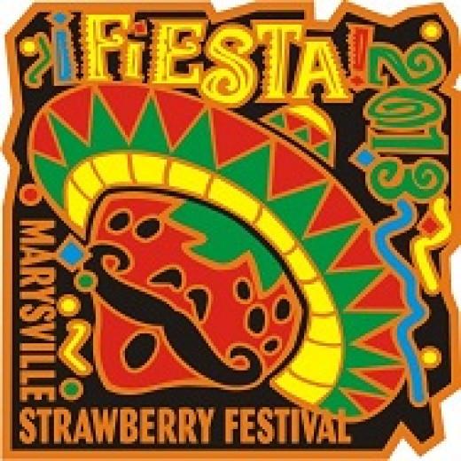 2013 Marysville Strawberry Festival logo