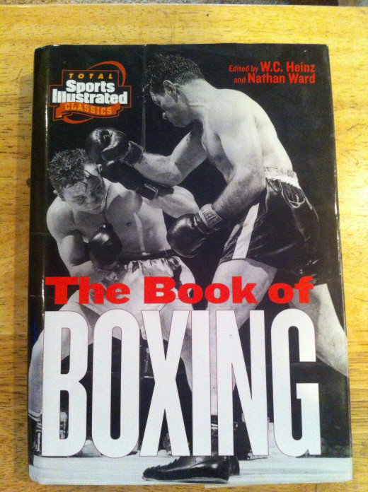 The Book of Boxing was edited by W.C. Heinz and Nathan Ward. It has black and white and  color pictures throughout this book. Some of the best fights from the 20's till 1980 are listed in this book.
