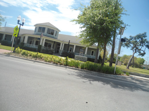 The library in Eastonville is located in the Zora Neale  Hurston Square.