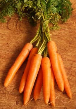 The carrot photo....