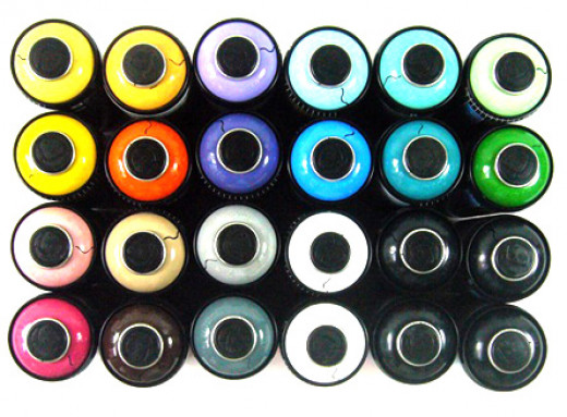 Graffiti Spray Paint Collection