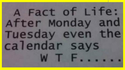 A Monday Fact: I hate receiving, funny Monday quotes for work