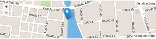Location: House #30, Road 19/A, Banani Model Town, Dhaka, Bangladesh 01726-925181 - JUST TAKE THE ROAD ADJACENT TO WARID/AIRTEL FROM KAMAL ATTATURK ROAD