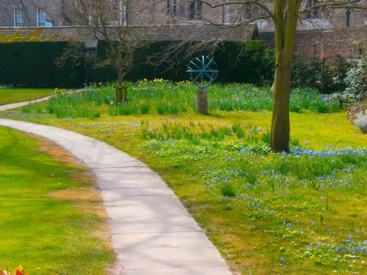 Spring in Sidney Sussex College. Photo by Flysky