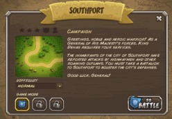 Kingdom Rush walkthrough: Level 1 - Southport