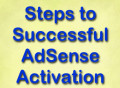 Steps to Successful AdSense Activation