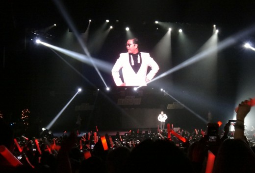 PSY performs Gangnam Style at the KIIS-FM Jingle Ball concert in Los Angeles