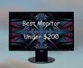 Best Monitor Under $200 in 2014