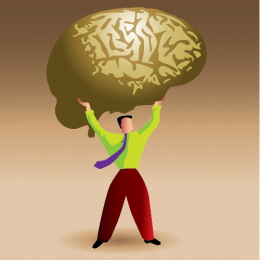 Brain needs mental nourishment as much as physical nutrients