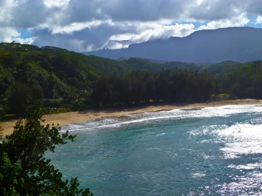 Kalihiwai Bay, Island of Kaua'i
