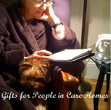 Gifts for People in Care Homes.