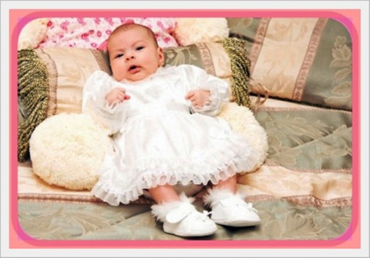 Pretty as a picture and ready for her Christening - what Baptism gift would you choose for this little girl? I hope my list of favorites will help you decide.